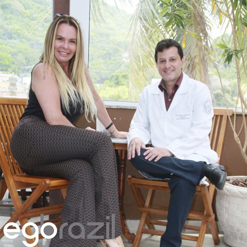 Reportagem Portal Ego Brazil: A Ex – A Fazenda, Ex-Modelo e agora coach, Cristina Mortaguá, segue a risca o tratamento metabólico com Medico das celebridades.