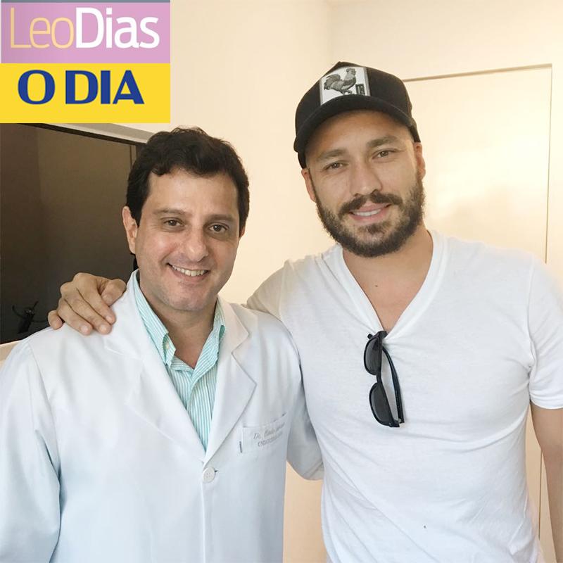 Leo Dias – Jornal O Dia: Rodrigo Andrade consulta com médico das celebridades