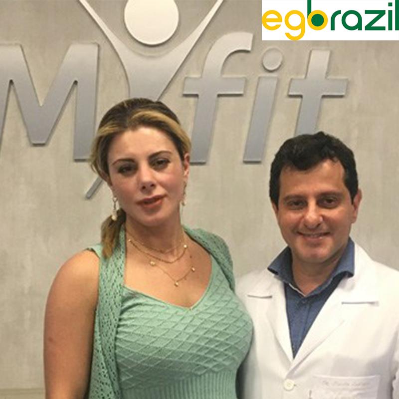 Ego Brazil: Deborah Albuquerque nova cliente do Dr. Claudio Ambrosio.