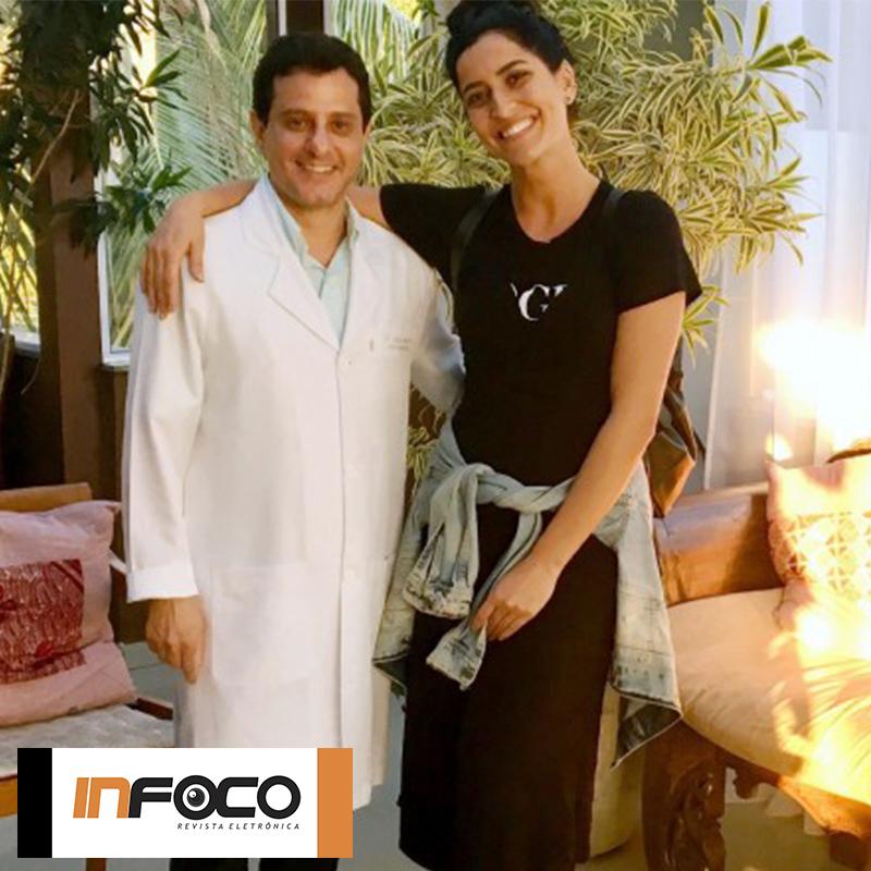 """InFoco: Maria Joana bomba no """"Mais Você"""" e cuida da saúde com o médico das celebridades"""