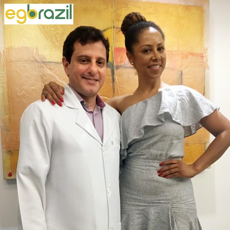 Ego Brazil: Valéria Valenssa não abre mão dos cuidados com Dr Claudio Ambrosio.