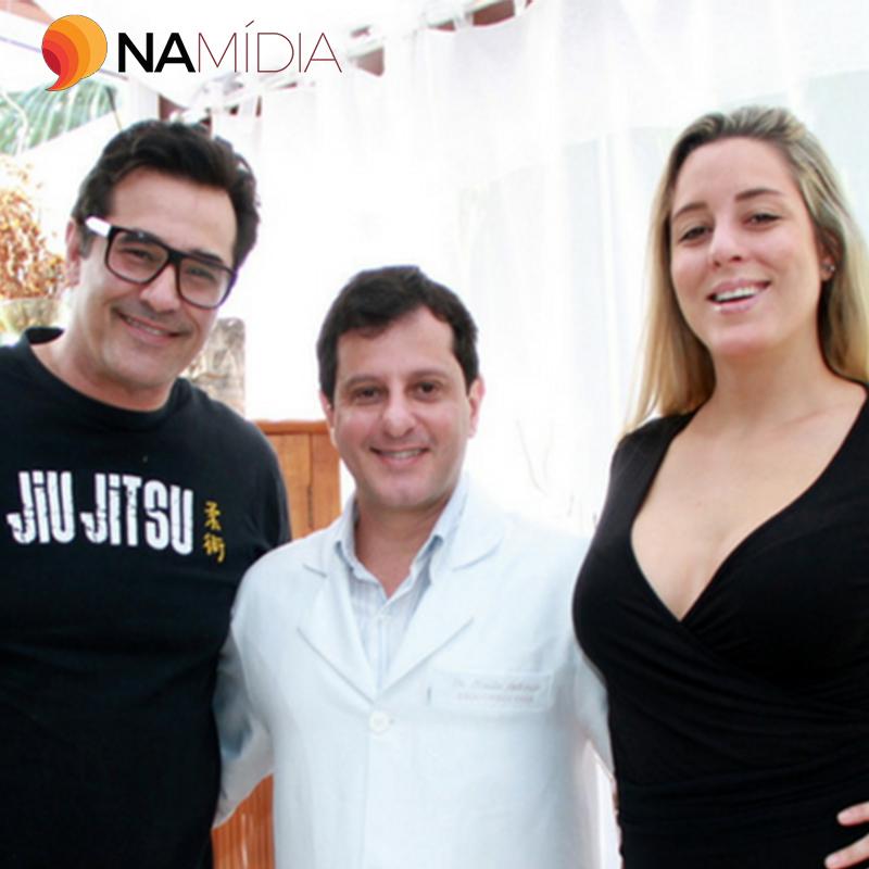 Portal Na Mídia:Luciano Szafir e esposa vão ao consultório do Médico das Celebridades